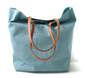 Linen Tote Beach Bag by Independent Reign
